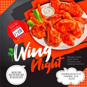 Wing Night October