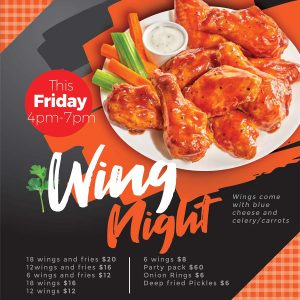 Grantham Lions Wing Night